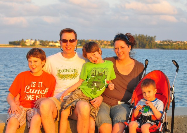 The Wallaces in West Palm Beach