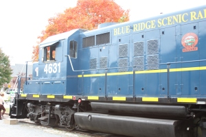 Blue Ridge Scenic Railway engine