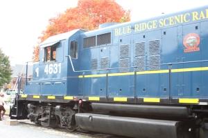 Blue Ridge Scenic Railway engine