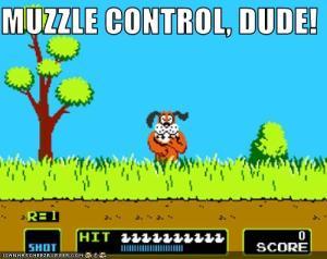 Muzzle control.