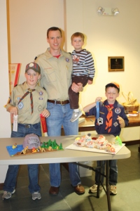 Cub Scout Dad and Lad Cake Bake off