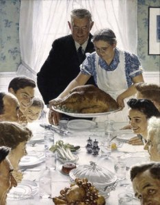 "Norman Rockwell's ""Freedom from Want"""