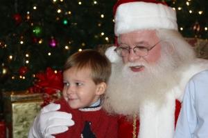 Carlton and Santa