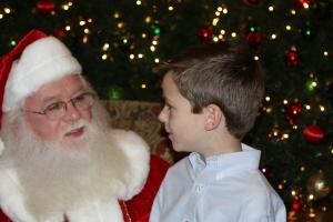 Harris and Santa