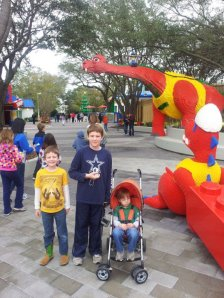 Our boys at Legoland