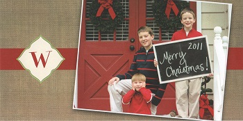 The 2011 Wallace Family Christmas Card