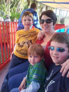 The Wallaces at Legoland
