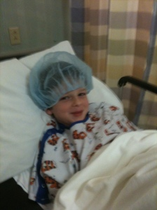 Harris before surgery