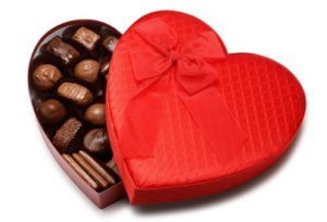 valentine's day chocolates