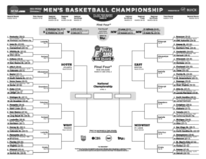 2012 NCAA Men's Basketball Tournament bracket