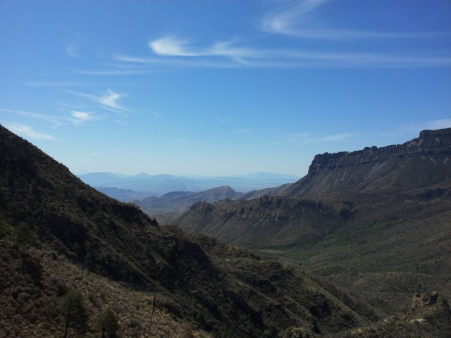 Vista from Lost Mine Trail in Big Bend National Park
