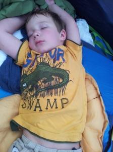 Carlton asleep
