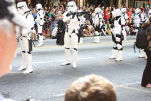 Dragon*Con Parade storm troopers