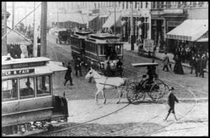 Atlanta traffic 100 years ago