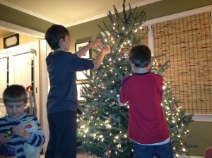 """Because we weren't doing Christmas """"right,"""" Barron took over and tried by force of will to get us back on track."""
