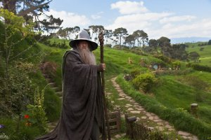 Gandalf beckons Bilbo to join in an unexepected journey.