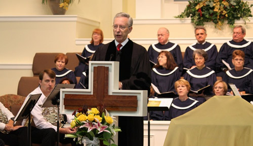 Jim King at Parkway Baptist Church in Duluth, Georgia