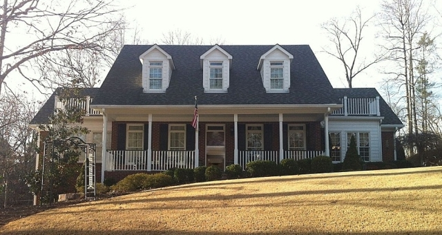 Our new home, less than a mile from our current residence in Lilburn.