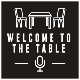 Welcome to the Table podcast logo
